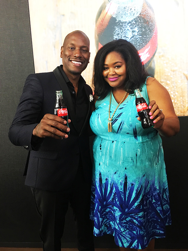 Coca-Cola Pay It Forward Tyrese Gibson