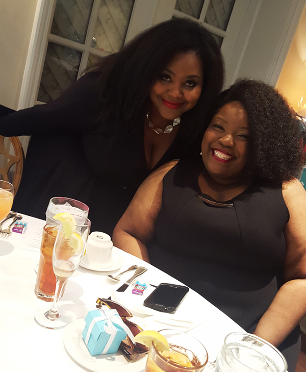 Smiles with our fabulous Hostess, Chenese Lewis