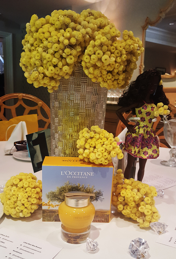 L'Occitane decorated table.... Gorg!!!