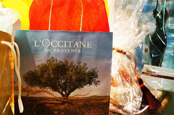 Luscious L'Occitane gifts