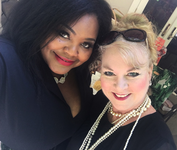 Selfie time with Perrie Tucker of India Hicks