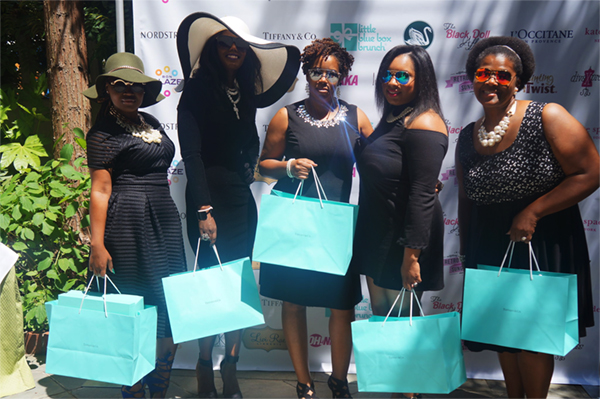 Every girl loves Tiffany! Our Tiffany winners!!!