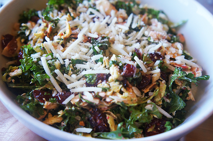 South Main Kitchen Kale & Brussel Sprout Salad