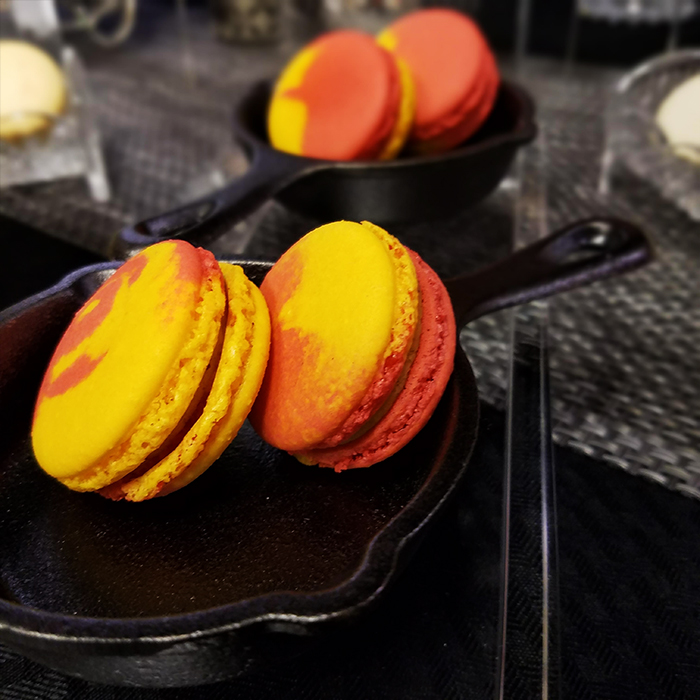 My Fare Lady Macarons Peach Cobbler
