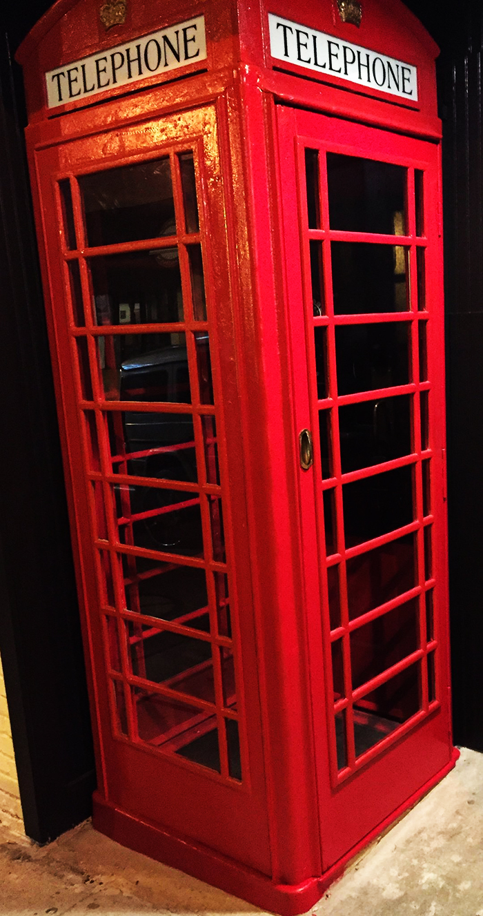Red Phone Booth Atlanta