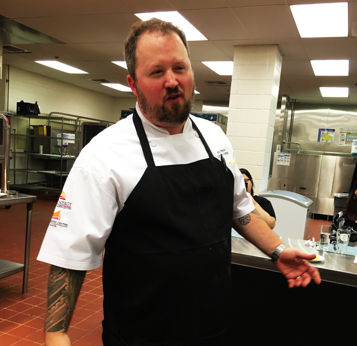 Chef Nick Walker Cobb Galleria Centre