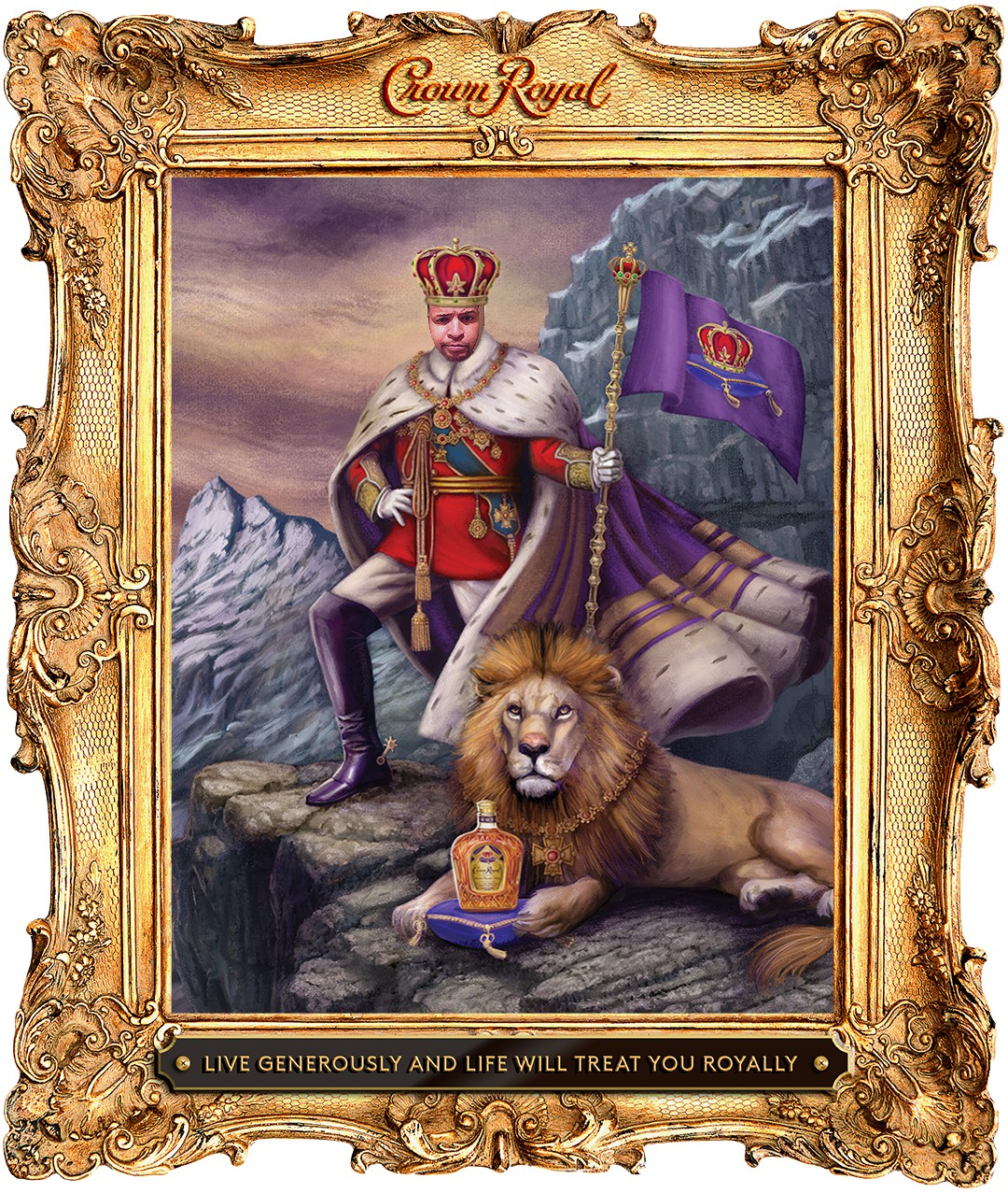 Crown Royal Crown Your Father app
