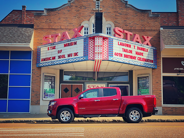 2018 Chevy Colorado Memphis Stax Records