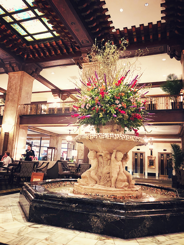 2018 Chevy Colorado Peabody Hotel Grand Lobby Fountain